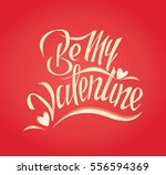 card to st. valentines day. be... | Shutterstock .eps vector #556594369