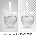 glass vector romantic... | Shutterstock .eps vector #556595785