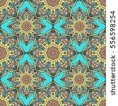 seamless pattern with mandalas...   Shutterstock .eps vector #556598254