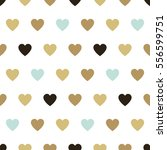 seamless background hearts. | Shutterstock . vector #556599751