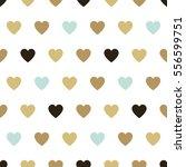 seamless background hearts. | Shutterstock . vector #556599751