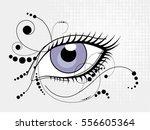''eye flower''   Shutterstock .eps vector #556605364