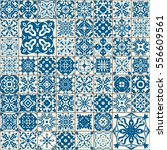 seamless tile pattern. colorful ... | Shutterstock .eps vector #556609561