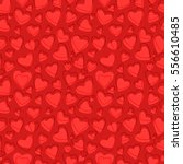 seamless heart pattern... | Shutterstock .eps vector #556610485