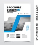 business brochure design.... | Shutterstock .eps vector #556611304