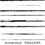 grunge paint stripe . vector... | Shutterstock .eps vector #556613185