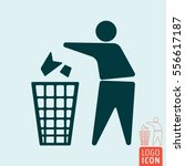 Keep Clean Icon. No Littering ...