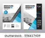 business brochure design.... | Shutterstock .eps vector #556617439