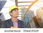businessman engineering...   Shutterstock . vector #556619329
