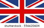 flag of united kingdom.vector... | Shutterstock .eps vector #556620604