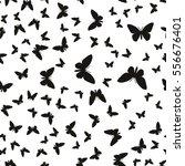 symmetrical pattern of random... | Shutterstock .eps vector #556676401