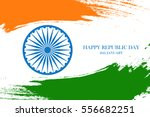 indian happy republic day... | Shutterstock .eps vector #556682251