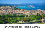 panoramic view on classical... | Shutterstock . vector #556682989