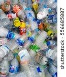 piles of garbage  plastic... | Shutterstock . vector #556685887