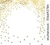 gold glitter background polka... | Shutterstock .eps vector #556692784