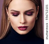 Fashion Beauty Portrait Of...