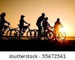 image of sporty company ... | Shutterstock . vector #55672561