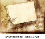 vintage background with film...   Shutterstock . vector #55672735