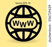 www web vector illustration | Shutterstock .eps vector #556729639