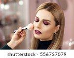 Process Of Making Makeup. Make...