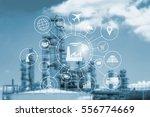 industry 4.0 concept  smart... | Shutterstock . vector #556774669