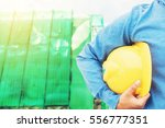 the engineering and a helmet... | Shutterstock . vector #556777351