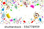 celebration carnival. bright... | Shutterstock .eps vector #556778959