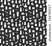 vector seamless pattern of ... | Shutterstock .eps vector #556785517