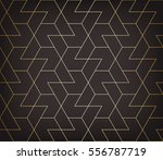 abstract geometric pattern with ... | Shutterstock .eps vector #556787719