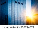 high rise office buildings in... | Shutterstock . vector #556796071