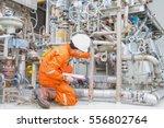 mechanical engineer checking... | Shutterstock . vector #556802764