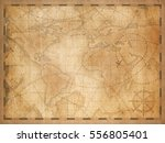 old world map background | Shutterstock . vector #556805401