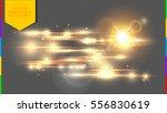 vector golden special effect.... | Shutterstock .eps vector #556830619
