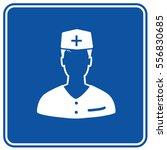 doctor icon design clean vector   Shutterstock .eps vector #556830685