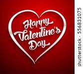 happy valentines day... | Shutterstock . vector #556831075