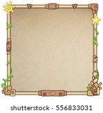 decorative animation frame. a... | Shutterstock .eps vector #556833031