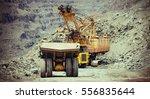 Heavy Mining Trucks And...