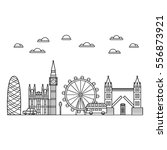 vector black london icon set on ...