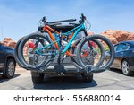 Bikes Loaded On The Back Of A...