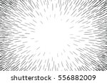 comic hand drawn radial lines... | Shutterstock .eps vector #556882009