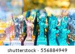 statue of liberty souvenirs... | Shutterstock . vector #556884949