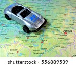 Small photo of Car abd map