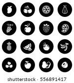 fruit icon | Shutterstock .eps vector #556891417
