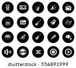 music icons | Shutterstock .eps vector #556891999