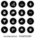 celebration icons | Shutterstock .eps vector #556892089