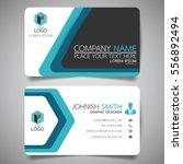 blue modern creative business... | Shutterstock .eps vector #556892494