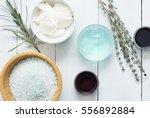 moisturizer  bath salt   night... | Shutterstock . vector #556892884