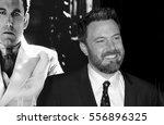 ben affleck at the los angeles... | Shutterstock . vector #556896325
