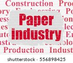 industry concept  painted red... | Shutterstock . vector #556898425