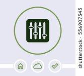 user interface power slider...